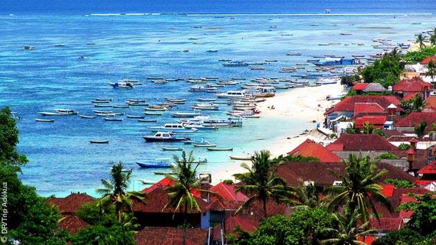 le lagon de Nusa lembogan