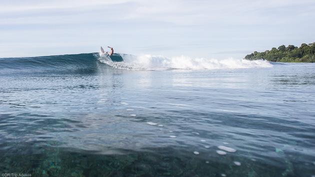 Séjour boat trip surf à Sumatra en Indonésie