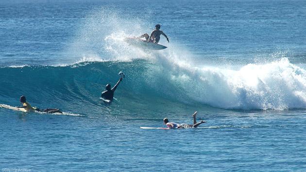 Surf trip de rêve au Maldives