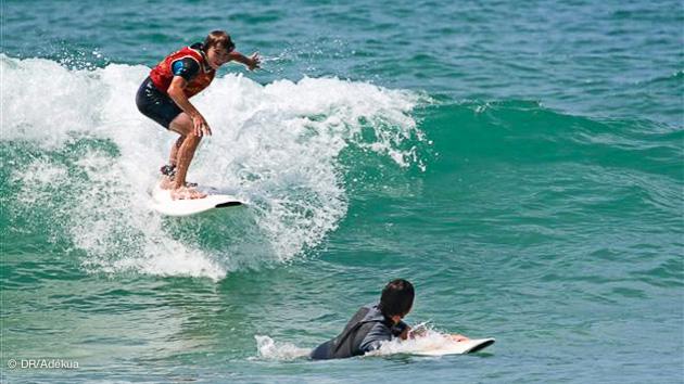 sejour et stage surf à Hossegor
