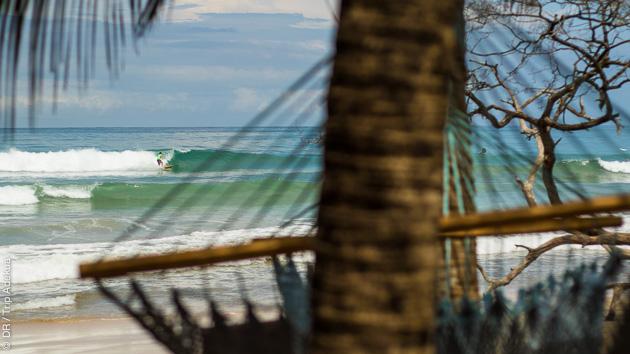 Coaching surf au Costa Rica dans une villa, en juillet et aout