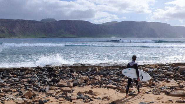 Séjour surf à Lanzarote aux Canaries