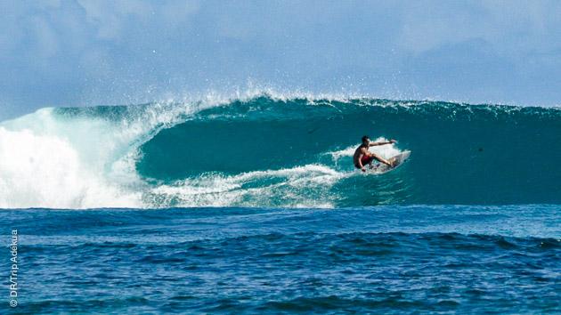 sejour surf aux Philippines