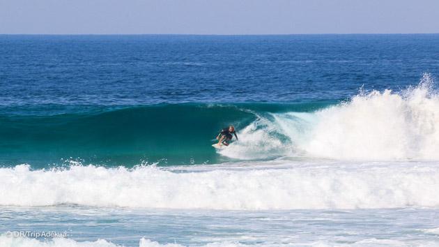 les vagues parfaites du Mozambique pour des vacances surf parfaites