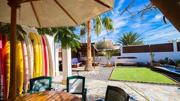 Votre logement au surf camp de Corralejo, pour un stage surf aux Canaries