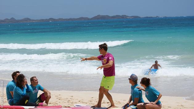 votre cours de surf à Fuerteventura