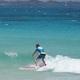 Commentaire de Marc sur son séjour surf à Corralejo avec Sophie