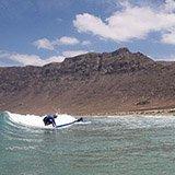 Commentaire de Jérôme sur son séjour surf à Lanzarote aux Canaries avec Julie et Trip Adékua