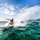 Commentaire Luce sur son séjour surf à Lanzarote aux Canaries, avec Julie et Trip Adékua