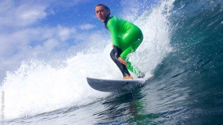 surf à Peniche en juin