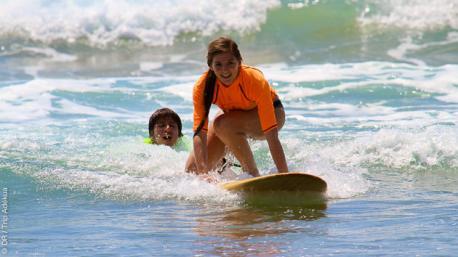 Stage de surf avec moniteurs certifiés en Equateur