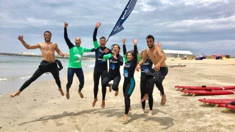 Votre séjour en camping avec cours de surf au Portugal