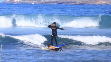 Séjour surf en famille à Tenerife
