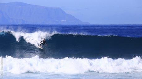 Vacances surf en couple avec guide et cours à Tenerife