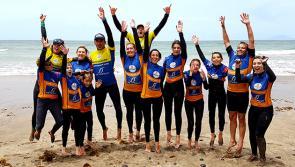 Ambiance top lors des cours de surf pour Bruno à Lanzarote