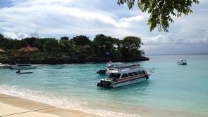 Souvenir de Nusa Lembongan (Bali) pendant le séjour surf