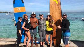 Très bonne ambiance lors de ce séjour surf à Nusa Lembongan