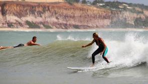 Séjour surf pour Stéphanie à Tibau do Sul