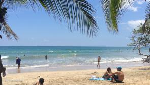 ambiance plage et surf au Costa Rica pou rnotre trip en aout 2014
