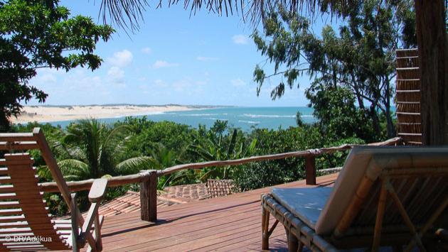 le spot pour checker la vague depuis votre poussada au Brésil
