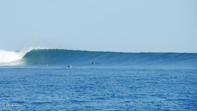 spot de surf à Madagascar à Tulear : le rêve