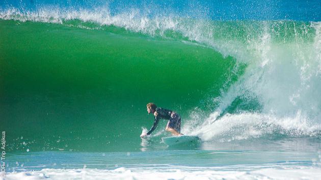 du bon surf sur les meilleurs spots du Brésil