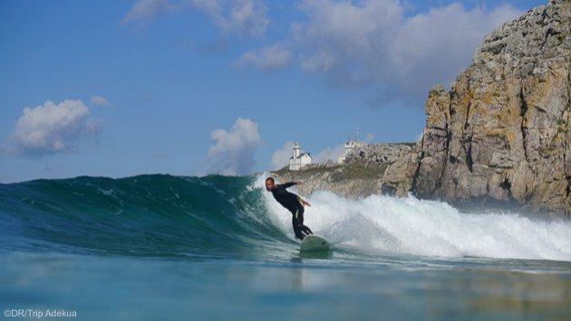 Surfez les meilleurs spots de la presqu'île de Crozon