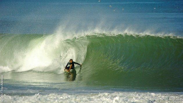 Confinement sur le spot de surf ?