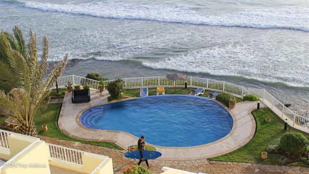 votre appartement en face du spot de surf à Taghazout