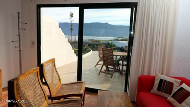 votre maison à Lanzarote avec vue sur le spot de surf