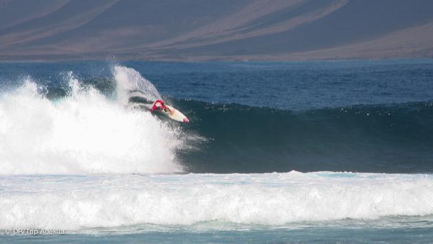 lanzarote : des vagues pour les pros comme pour les débutants en surf