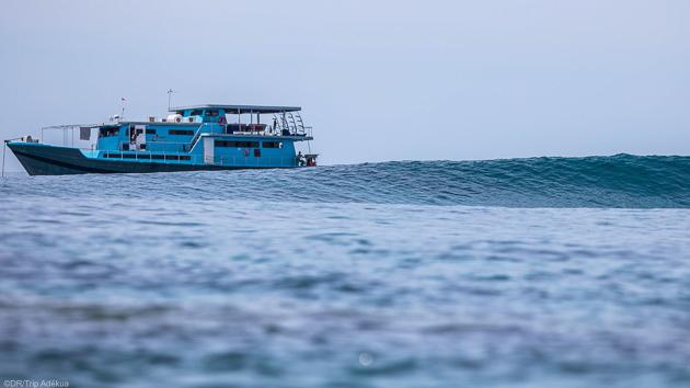 Votre séjour de rêve sur un bateau pour surfer les meilleures vagues de Sumatra