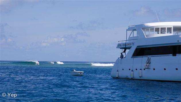 votre bateau pour une croisière surf aux Maldives