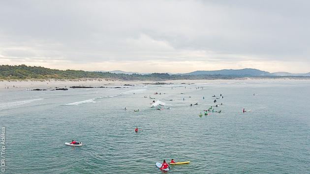 Un court séjour avec coaching surf intensif au Portugal, avec Tiago Pires