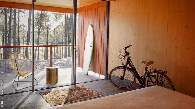 Un hébergement tout confort pour ce séjour surf pro coaching pour les surfeurs aguerris