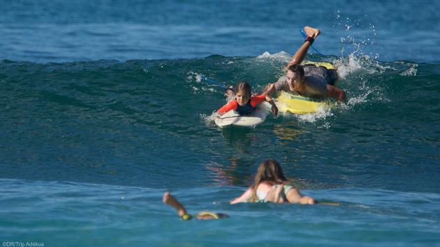 Un séjour de rêve pour progresser en surf dans les vagues de Martinique