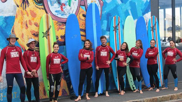 Cours de surf en Afrique du Sud avec logement, à Muizenberg et Cape Town
