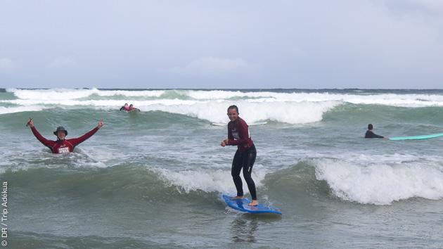 Séjour surf avec cours et safari en Afrique du Sud