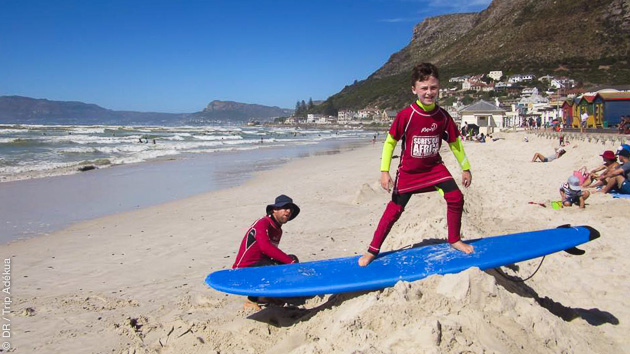 Vacances surf et safari en Afrique du Sud avec hébergement