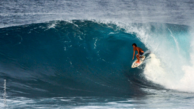 Cloud 9, Quiksilver, Jacking Horse... vous choisissez celle que vous voulez surfer pendant votre séjour à Siargao