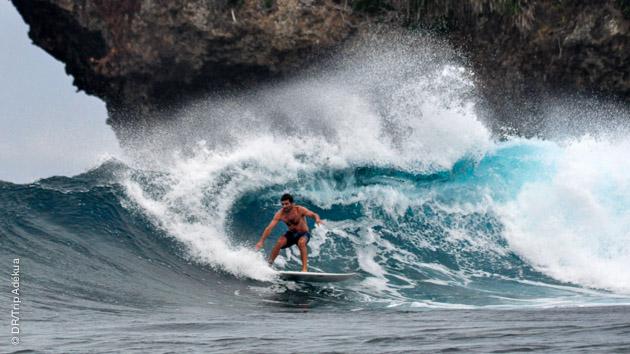 Vagues de rêve à surfer tous les jours à Siargao (Philippines)