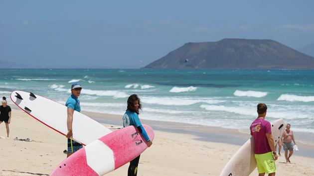 Votre stage de surf à Fuerte avec hébergement en hôtel 4 étoiles