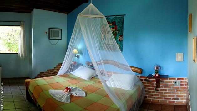 votre bungalow tout confot à la poussada de Tibau do Sul