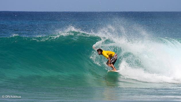 très bon stage de surf au Brésil