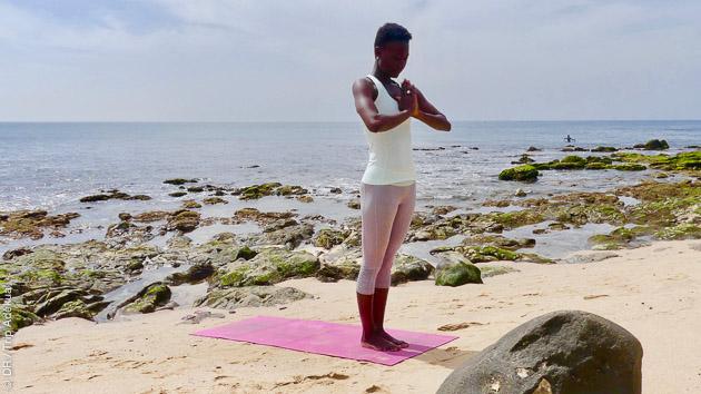 surf et yoga au Sénégal