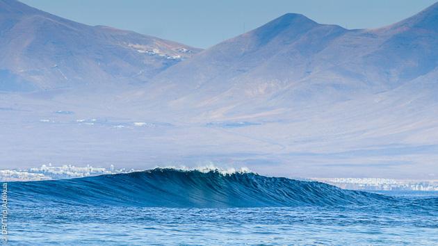 Top vagues au programme, sur le North shore de Corralejo, aux Canaries
