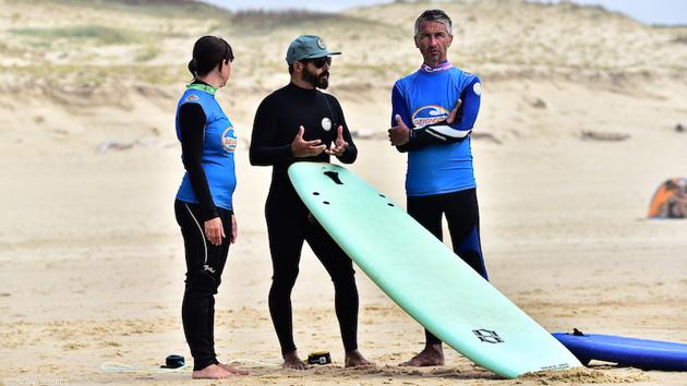 Surf trip dans les Landes avec cours et hébergement