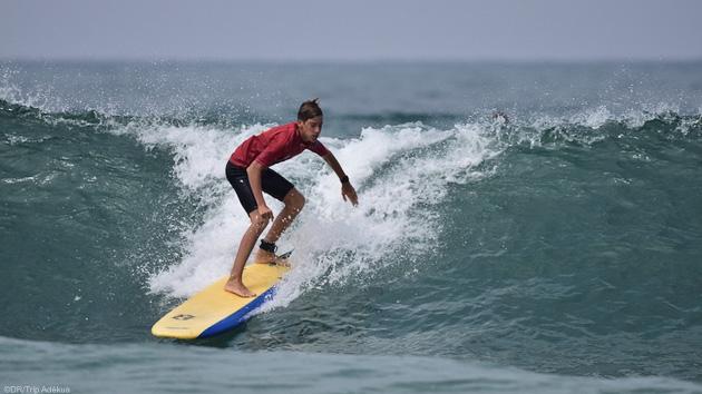 Des cours de surf pour progresser dans les vagues des Landes