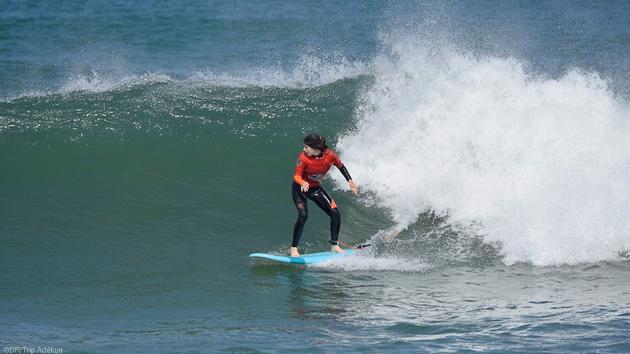 Des vacances surf avec hébergement et cours pour progresser