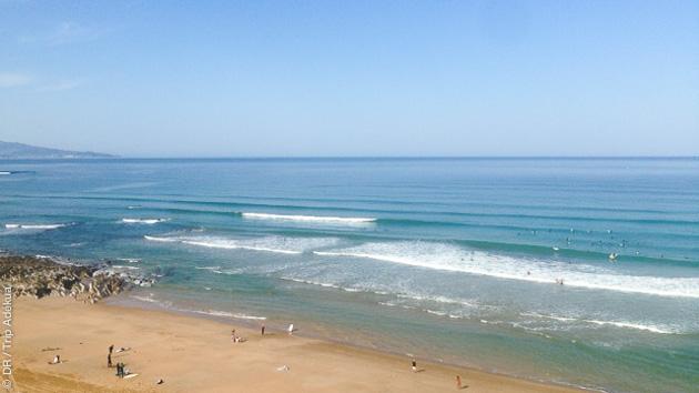 Cours privés de surf en duo sur les spots du Pays Basque